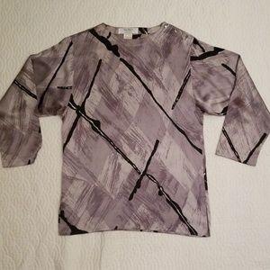 MaxMara silk tunic size 8